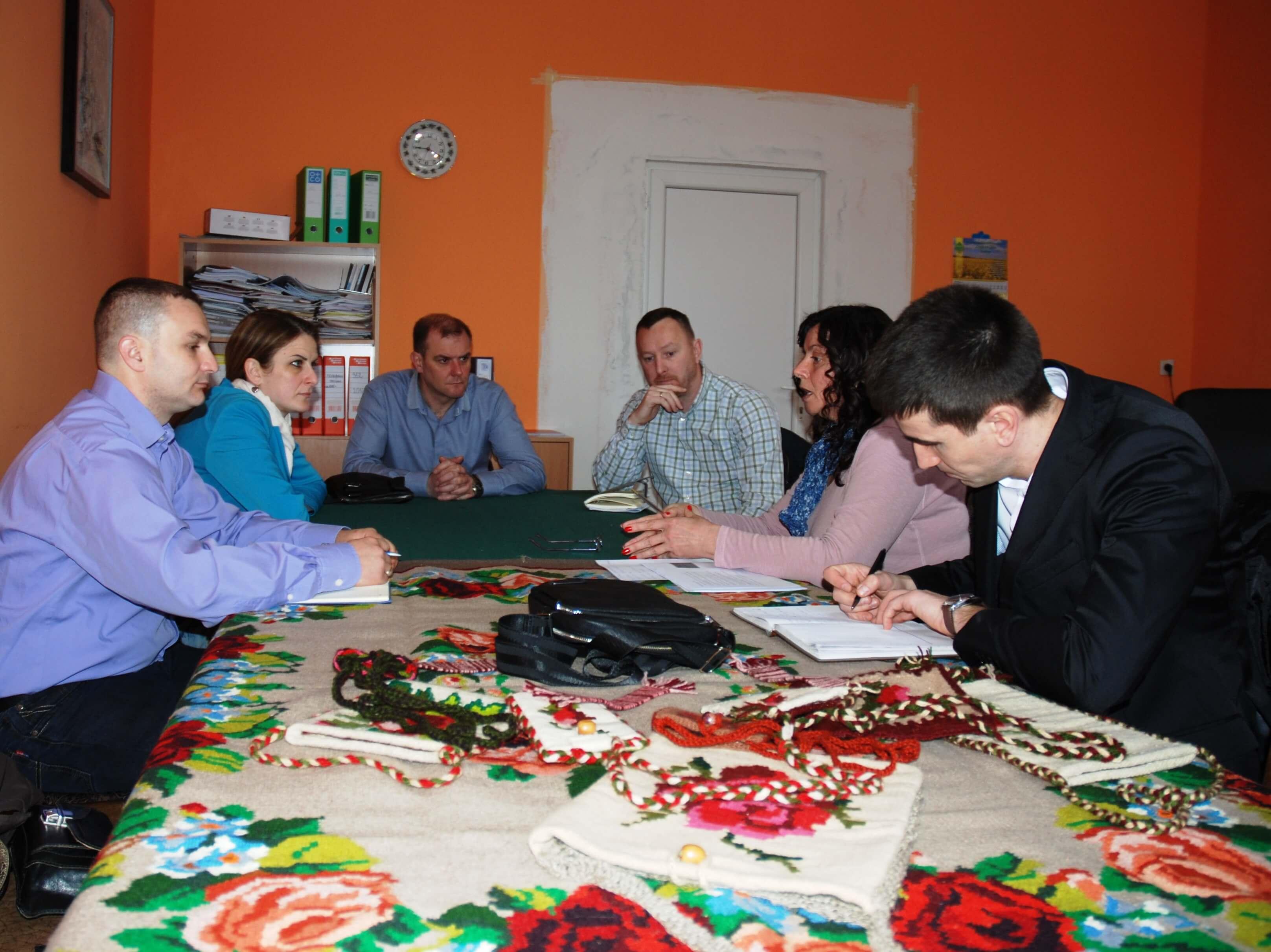 Градоначелница на састанку у Стапару, где је и седиште ЛАГ-а