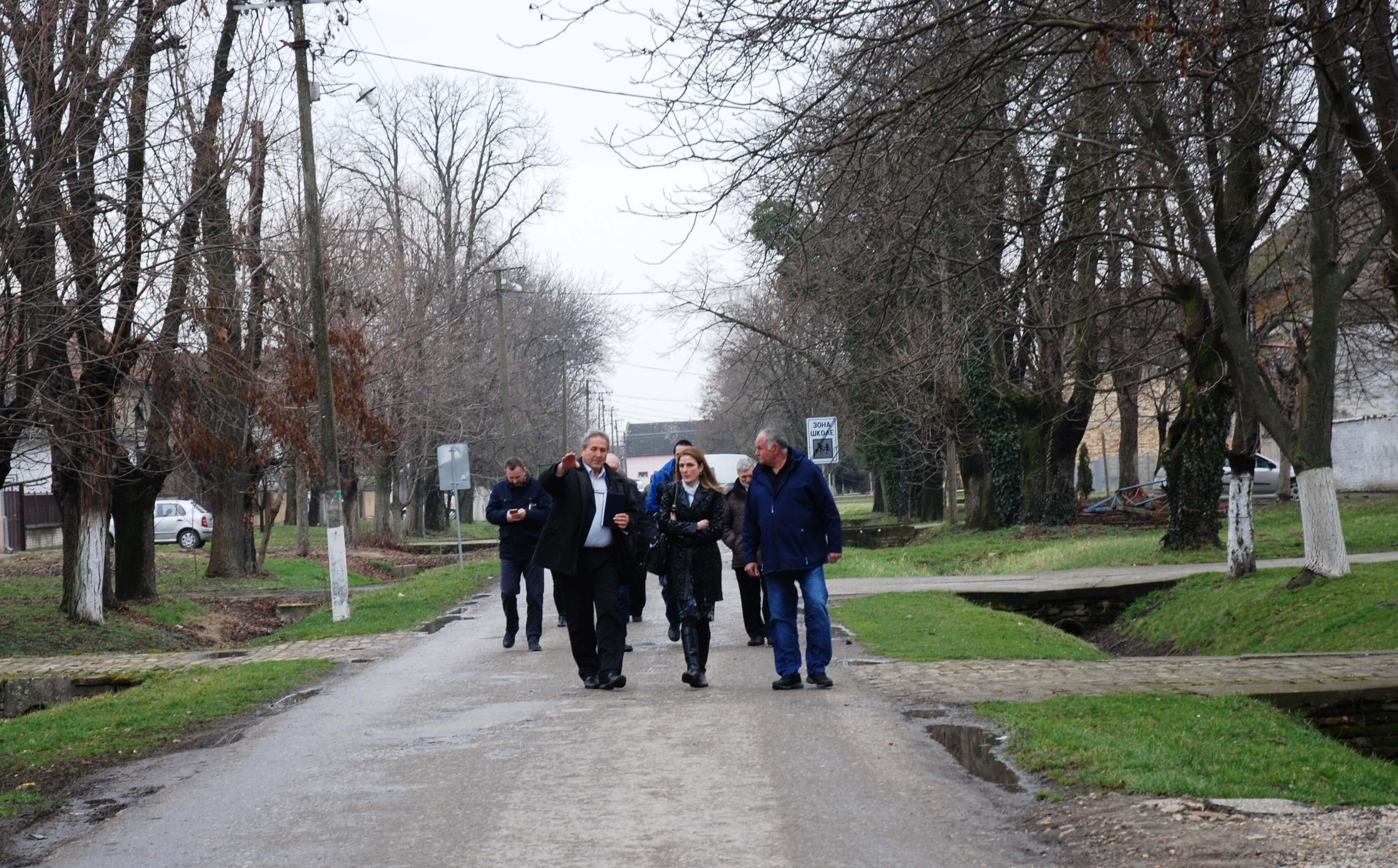 Градоначелница Сомбора Душанка Голубовић са сарадницима посетила Кљајићево