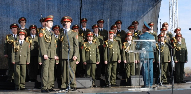 Хор ансамлба Црене армиије Александров