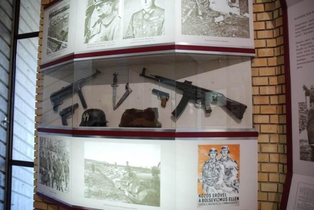 Изложено је и оружје