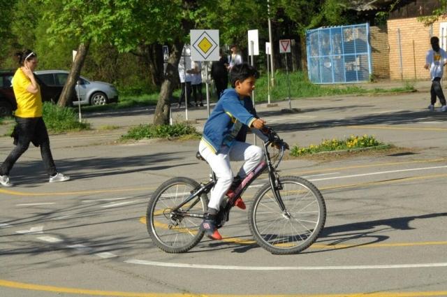 Вожња на полигону спретности