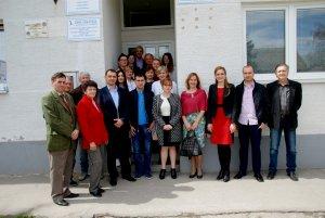 Градоначелница са грађанима Моноштора - учесницима акције