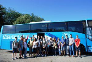 Ђаци генерације отпутовали на наградно летовање у Мађарску, на Балатон