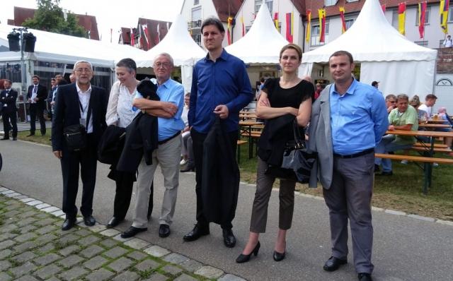 Делегација града Сомбора у обиласку Међународног Дунавског фестивала