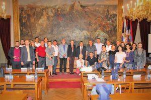 Гости из Асоцијација општине Јерменије, представници СКГО и домаћини
