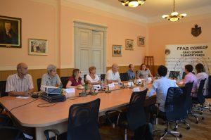 Радни састанак са представницима локалне самоуправе града Сомбора