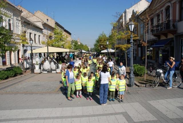 Deci su se u šetnji pridružili i Miroslav Kovačić, član Gradskog veća  i načelnik Odeljenja za obrazovanje Goran Todorić