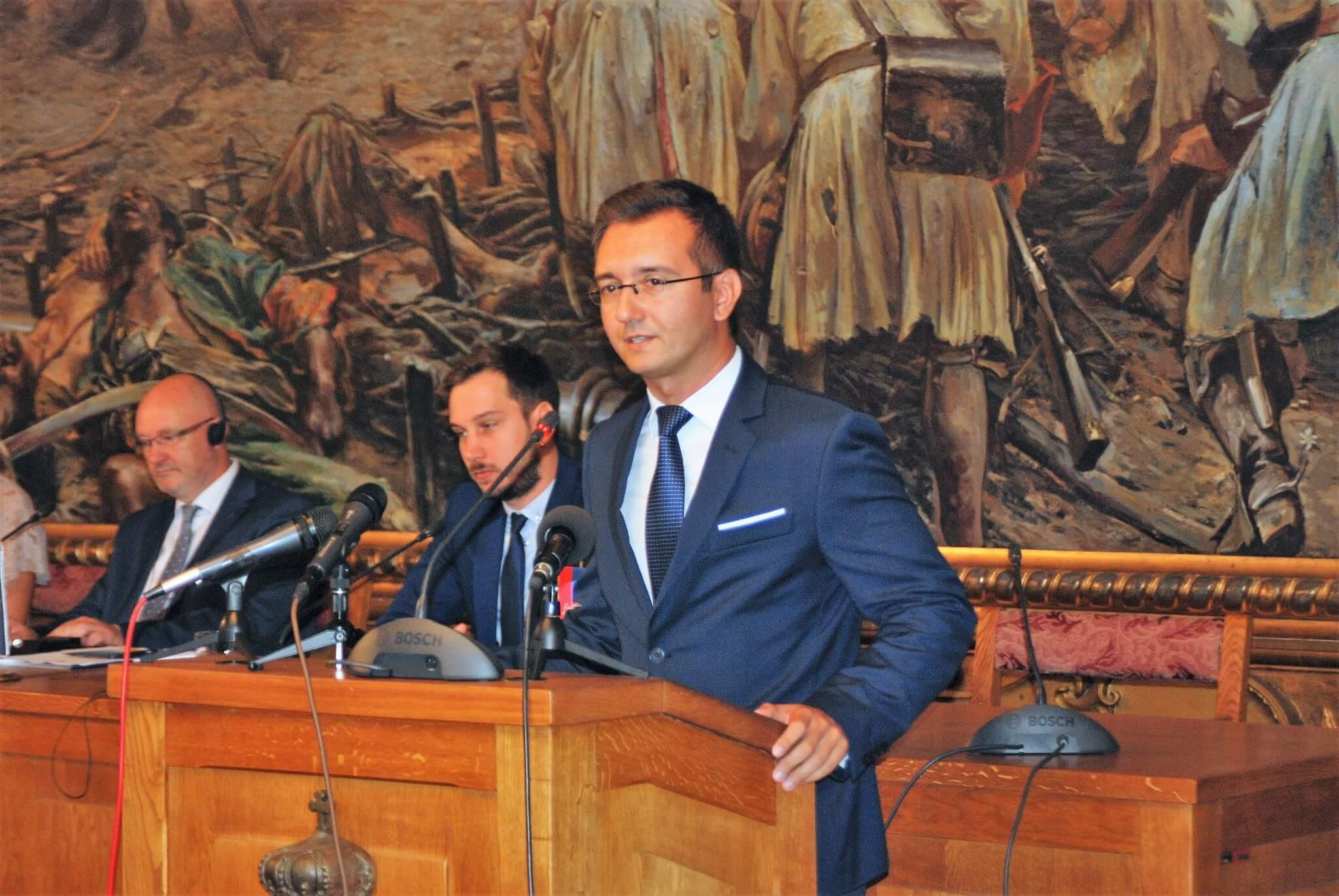Поздравни реч потпредседника Скупштине АПВ Војводине Дамира Зобенице