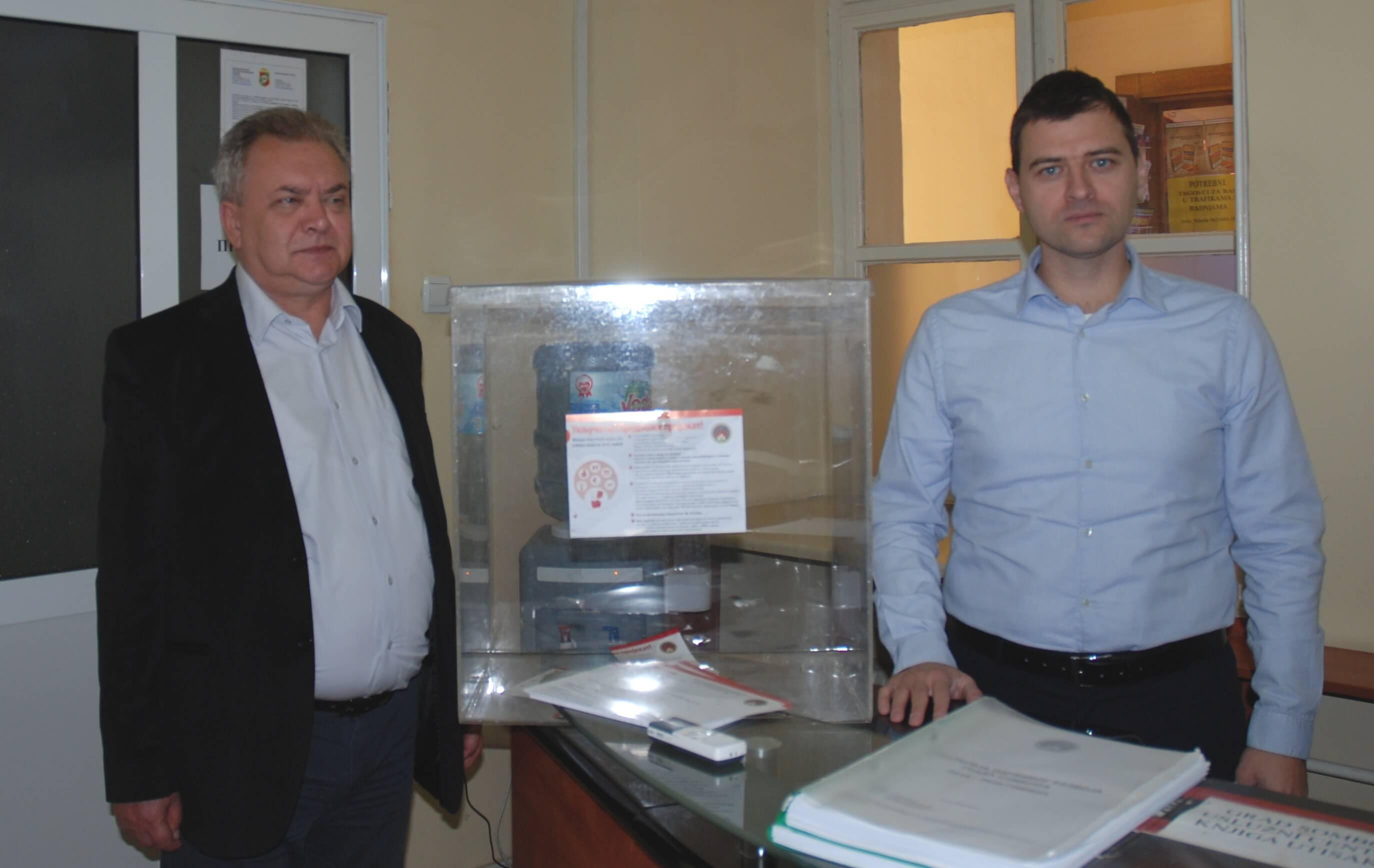 """""""Грађани имају право да одлучују о трошењу новца из буџета"""", поручио је Дојић, а Сворцан да ће сваки предлог бити евидентиран"""