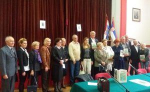 Градоначелница Сомбора Душанка Голубовић са ауторима књиге