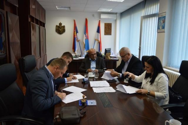 Потписивање Споразума о суфинансирању делатности Историјског архива Сомбор