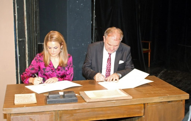 Свечано потписивање споразума о сарадњи између Града Сомбора и Педагошког факултета у Сомбору
