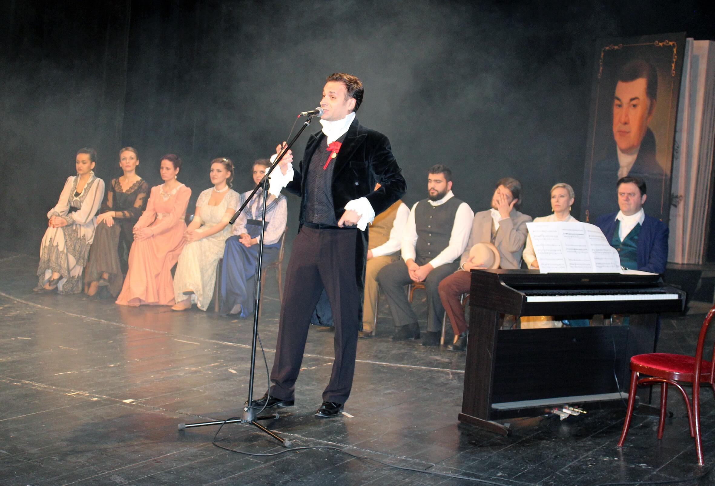 Детаљ из позоришне представе о Авраму Мразовићу