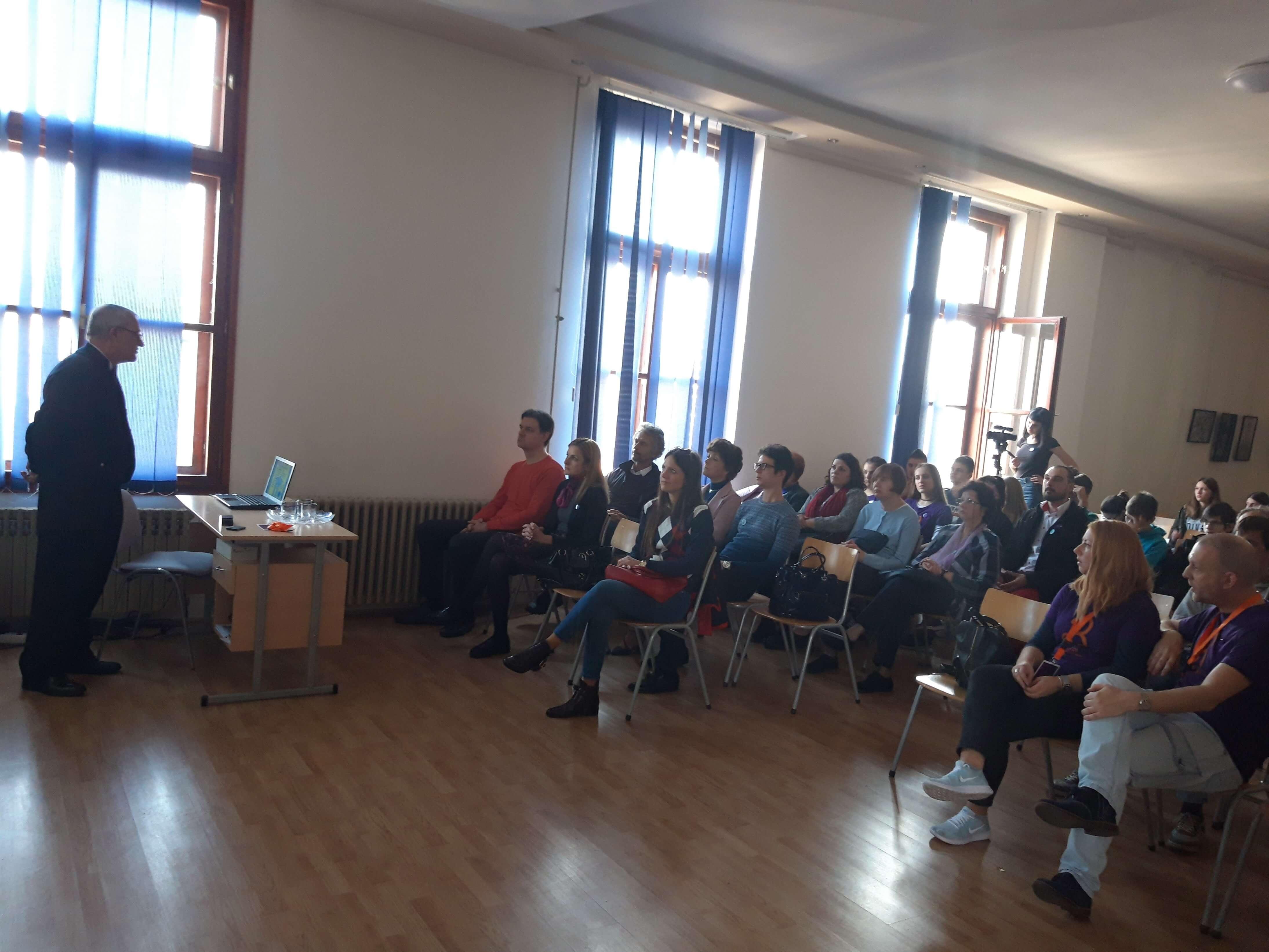 Градоначелница Сомбора Душанка Голубовић активно учествовала и на предавањима