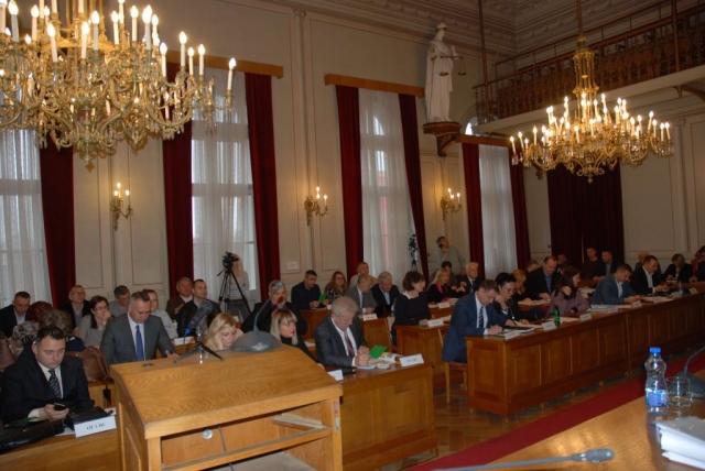 Одборници скупштине града Сомбора на 29.седници