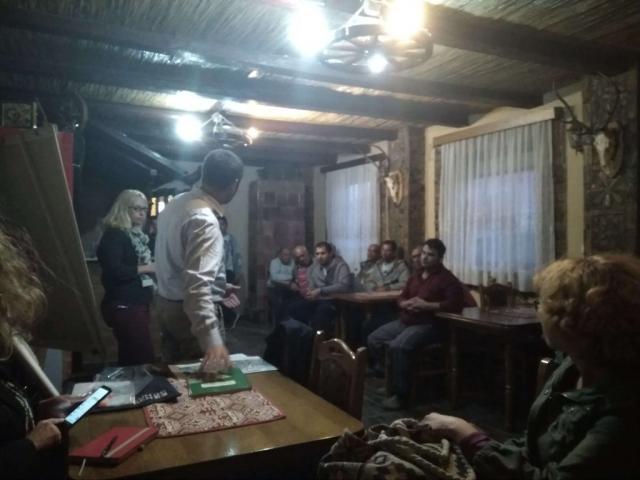 Становници ромског насеља у Бачком Моноштору, учесници радионице