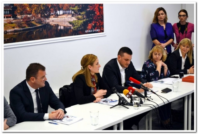 Obraćanje gradonačelnice Sombora Dušanke Golubović