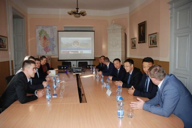 Пријем високе делегације града Датонга, Покрајина Шанси, Народна Република Кина