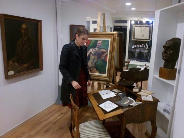 """Gradonačelnica Sombora Dušanka Golubović u Novom Sadu u galeriji """"Stuarts"""""""