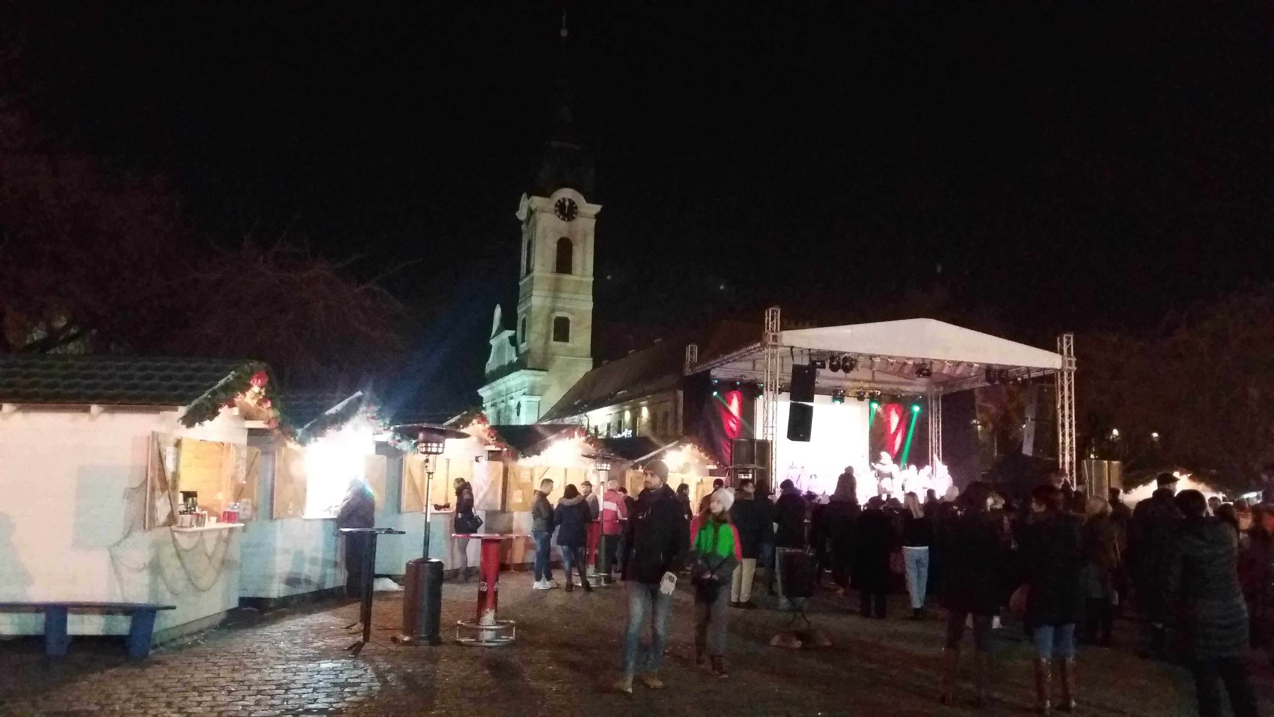 Загревање на почетку Сомборских зимских чаролија