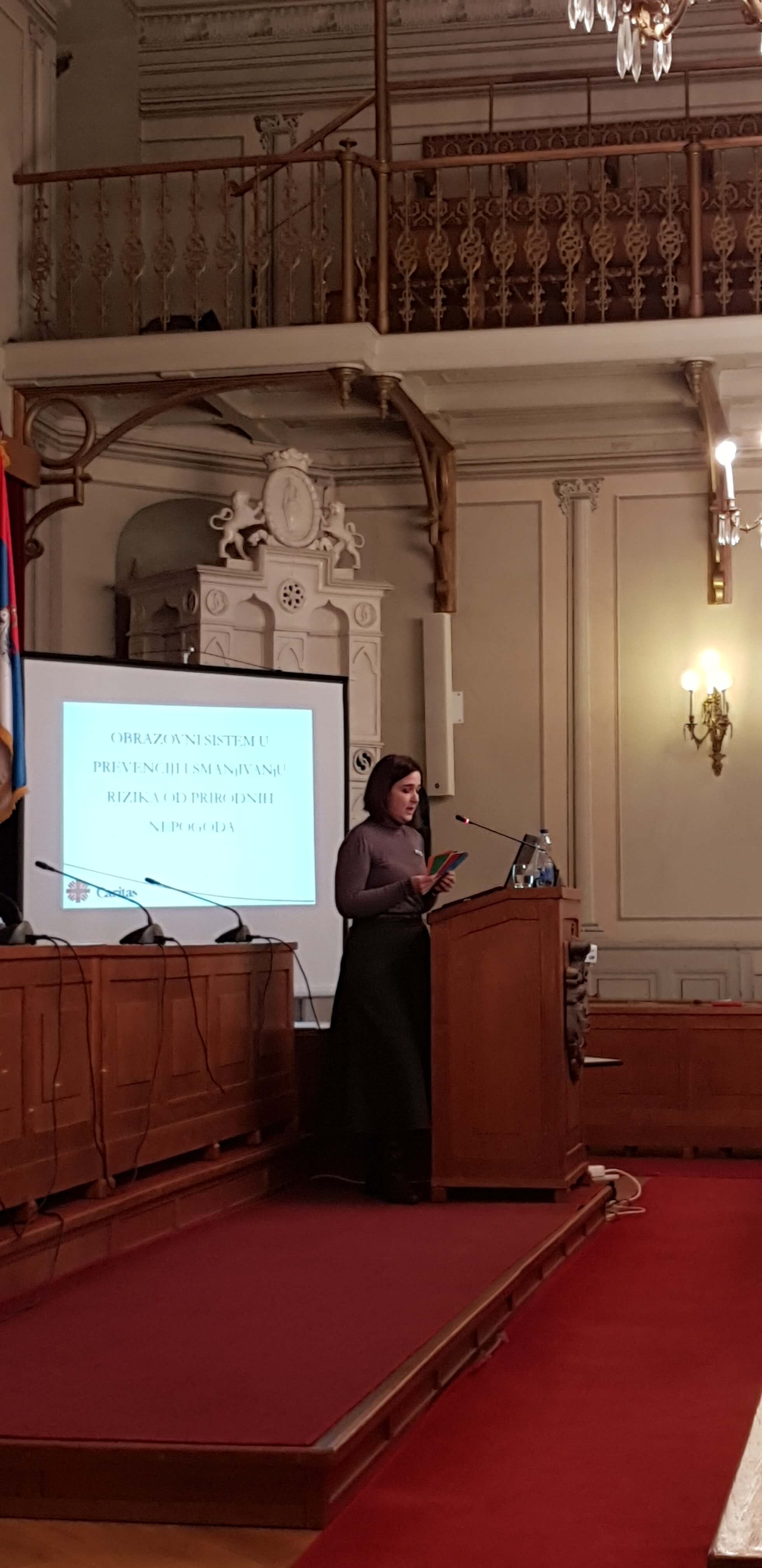 Jovana Lončarević humanitarna organizacija Karitas