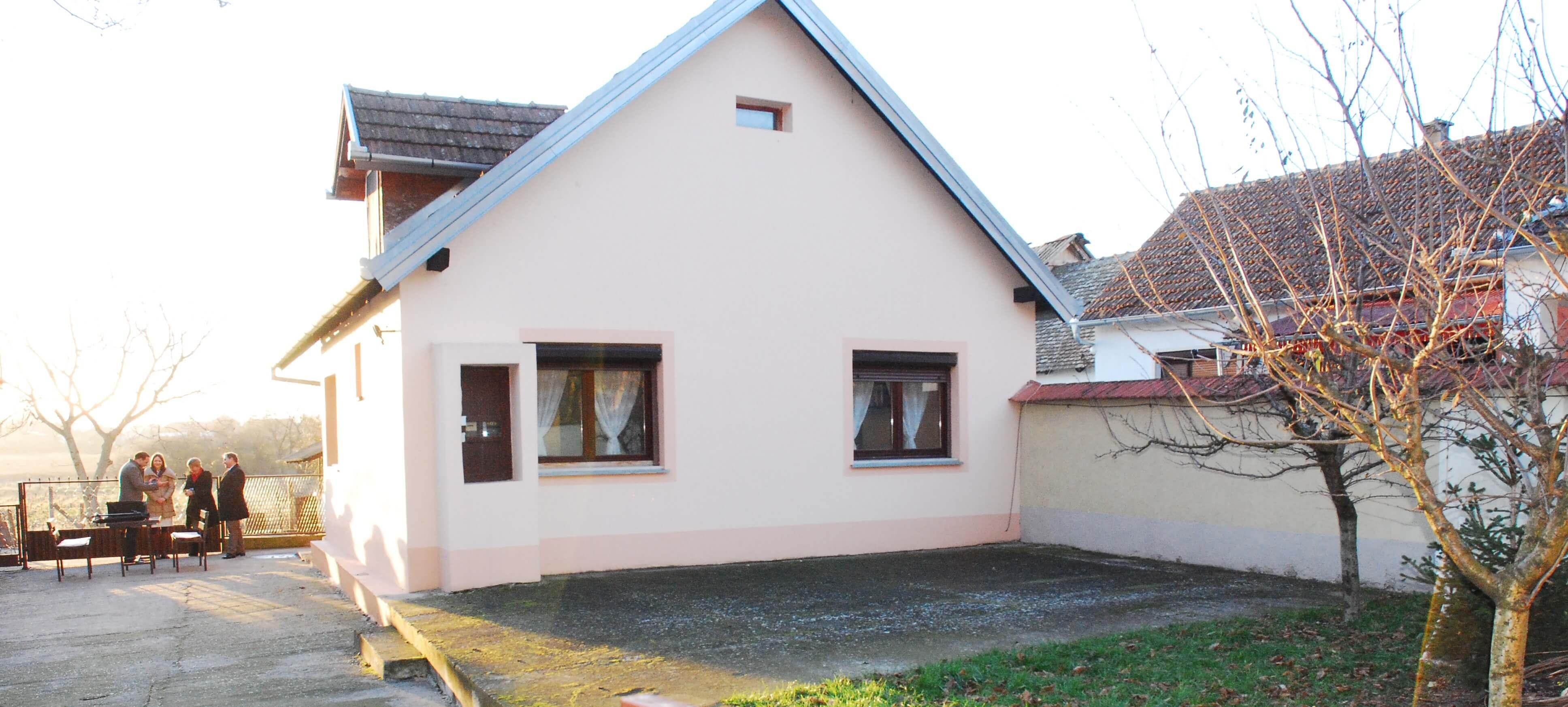 Кућа породице Миланко у Риђици купљена средствима добијеним на конкурсу