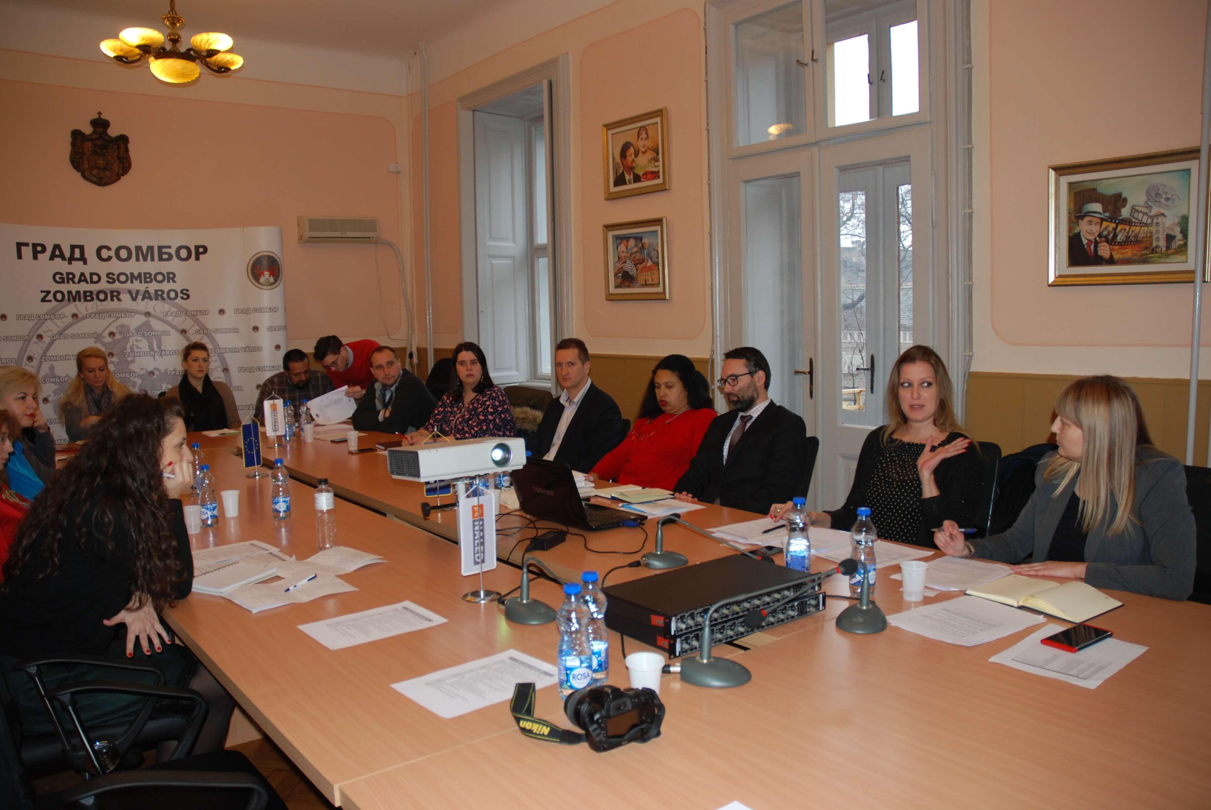 Представници градске управе, јавних предузећаи институција чији је оснивач град