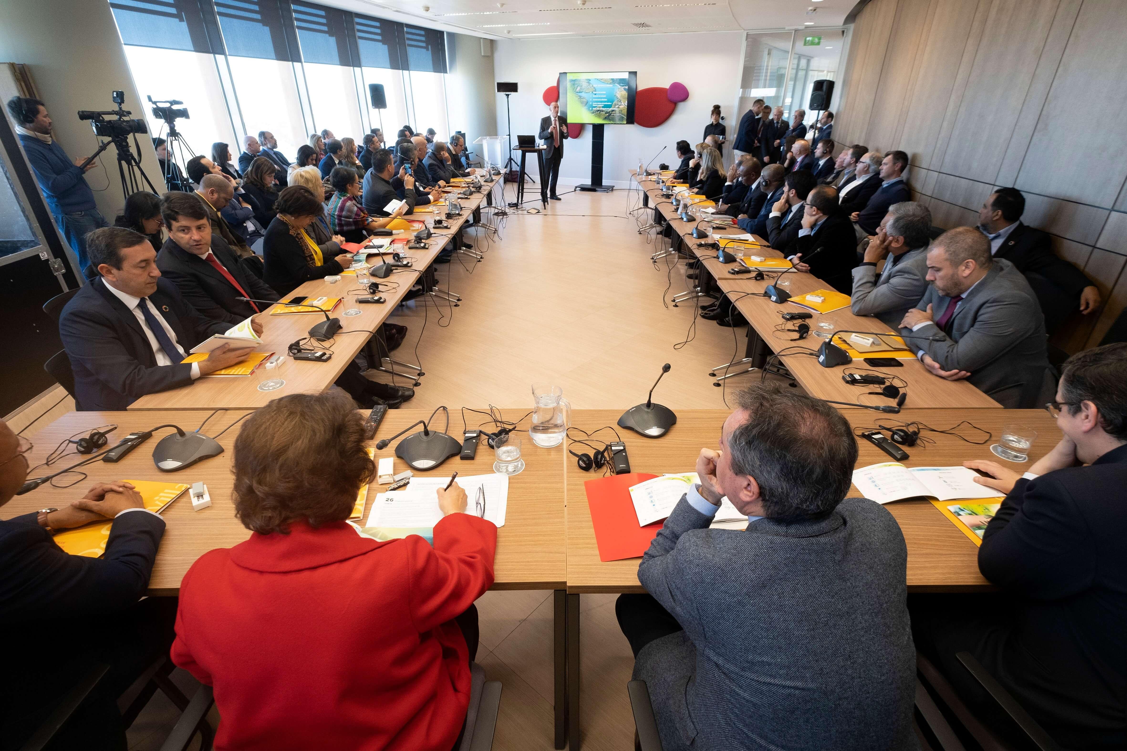 Атмосфера са II Глобалног Форума локалних самоуправа