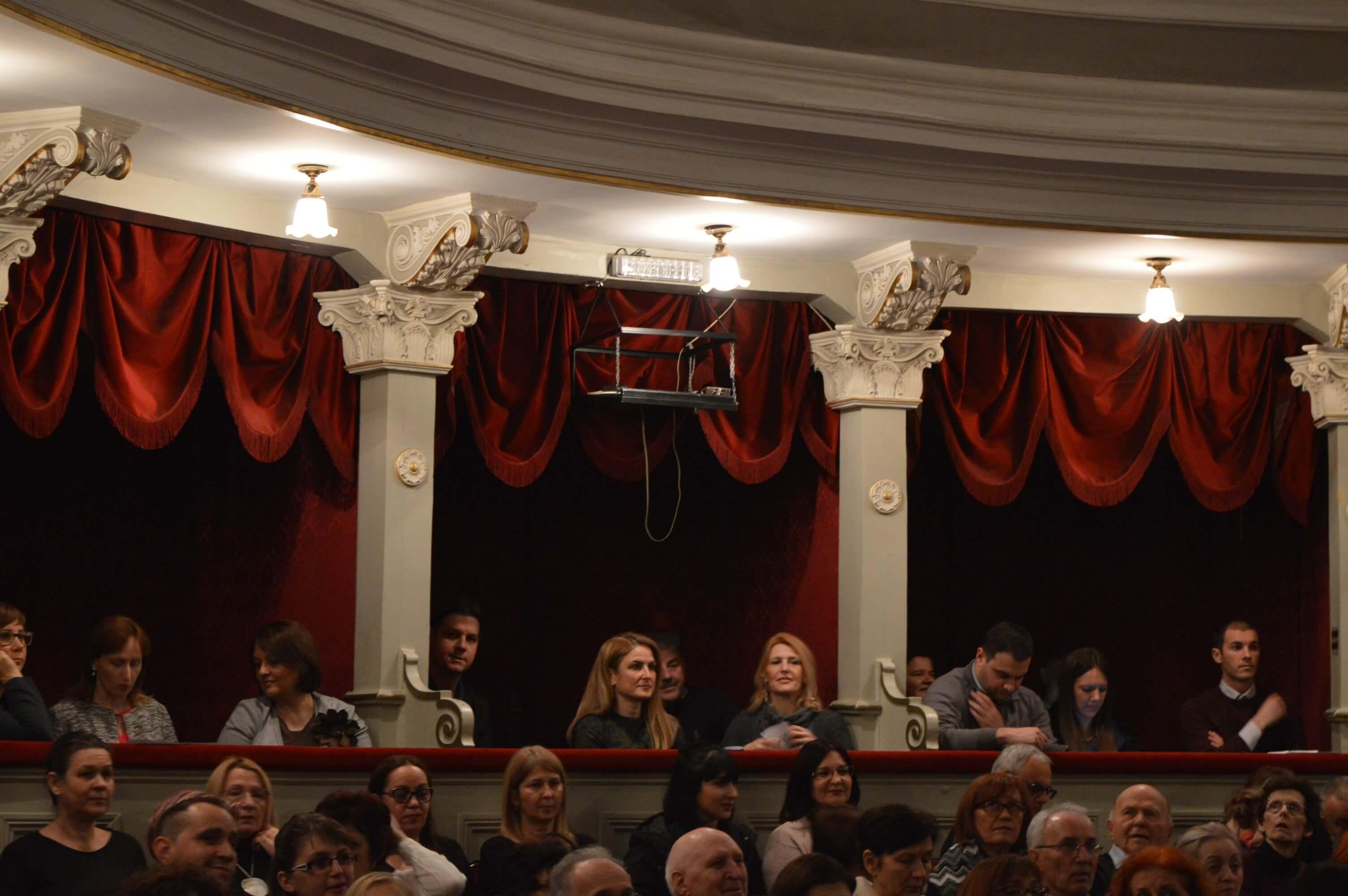Gradonačelnica grada Sombora Dušanka Golubović na koncertu Italijanskog kulturnog centra Subotica i Subotičkog tamburaškog orkestra
