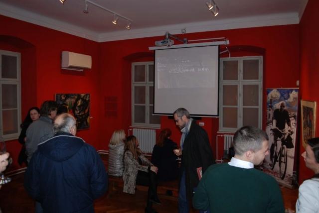 У оквиру изложбе приказан и филм о животу Милана Коњовића