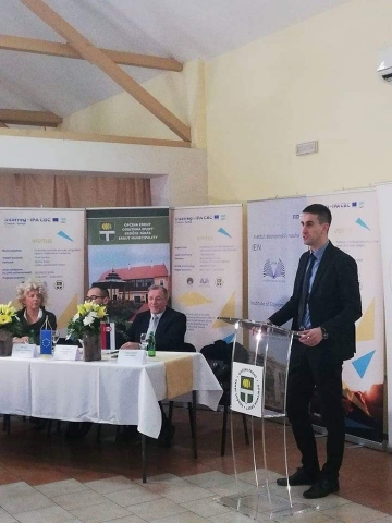 У име града Сомбора присутнима се обратио Антонио Ратковић заменик градоначелнице Сомбора