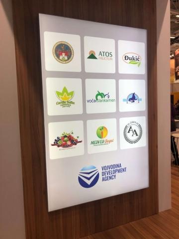 Поред Сомбора, на штанду РАВ било је и 8 компанија из Војводине
