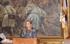 Градоначелница Сомбора Душанка Голубовић поднела извештај о раду за 2018.годину