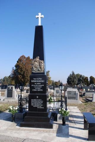 Породична гробница породице Костић у којој је сахрањен песник Лаза Костић
