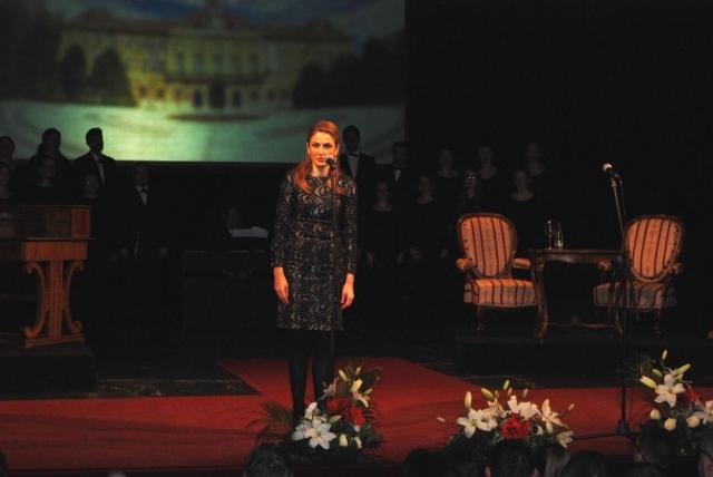 Градоначелница Сомбора Душанка Голубовић приликом свог обраћања