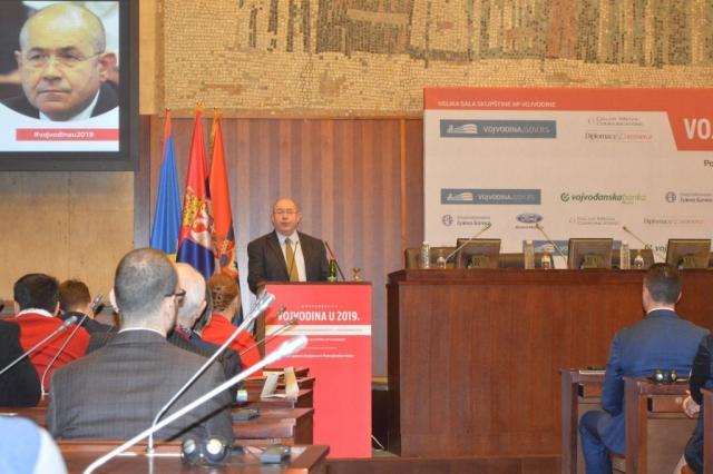 Поздравни говор одржао је  Иштван Пастор, председник Скупштине Војводине