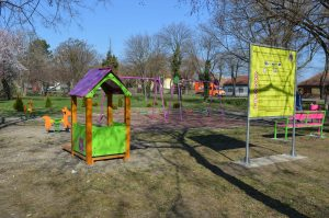 Новоизграђено игралиште на територији МЗ Горња Варош
