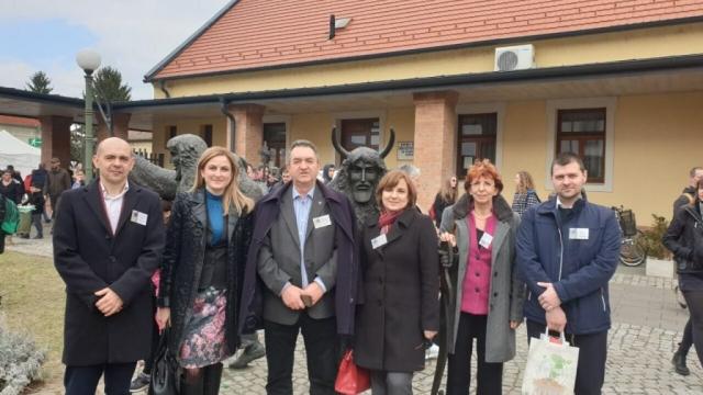 Градоначелница Сомбора Душанка Голубовић у посети Мохачу