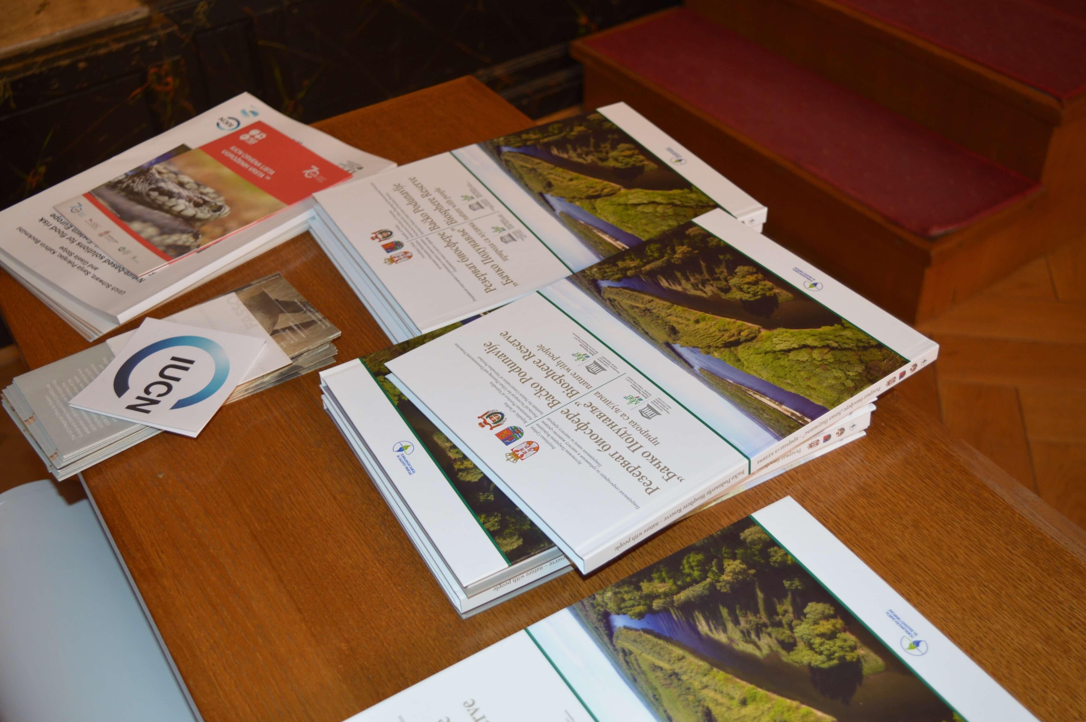 """Монографија """"Резерват биосфере Бачко Подунавље: природа са људима"""""""