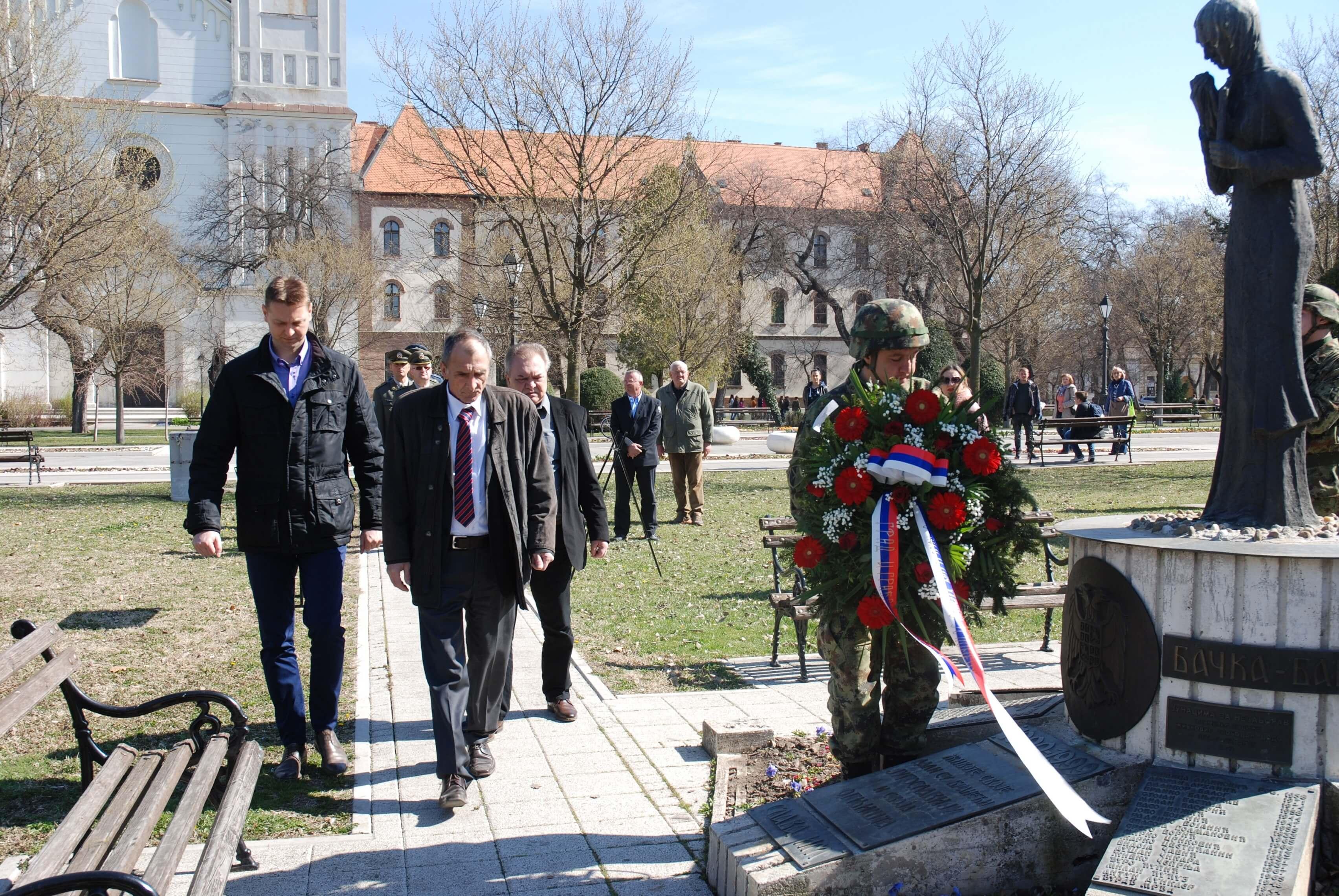 Градоначелница Душанка Голубовић у посети православном храму у Алекса Шантићу