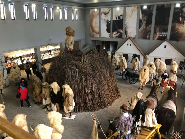 Музеј машкара у Мохачу