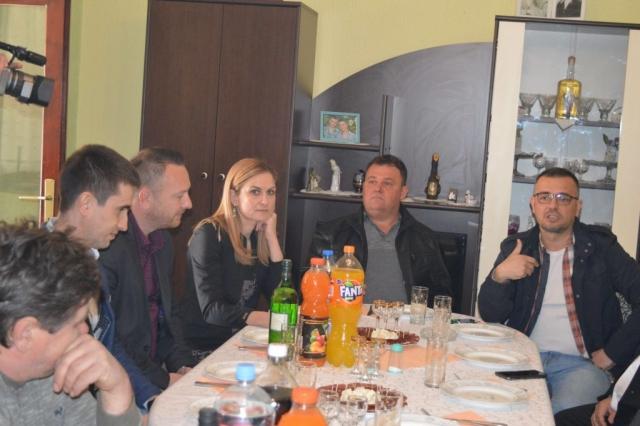 Испред одељења локалне пореске администрације присуствовали су начелница одељења Бисерка Јовићевић и помоћник начелника за област у тврђивања и контроле јавних прихода Огњен Ераковић