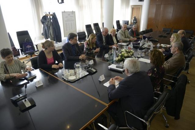 Пријем код градоначелника Загреба Милана Бандића