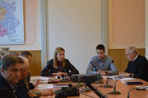Командант Штаба, градоначелница Сомбора Душанка Голубовић председавала је седницом