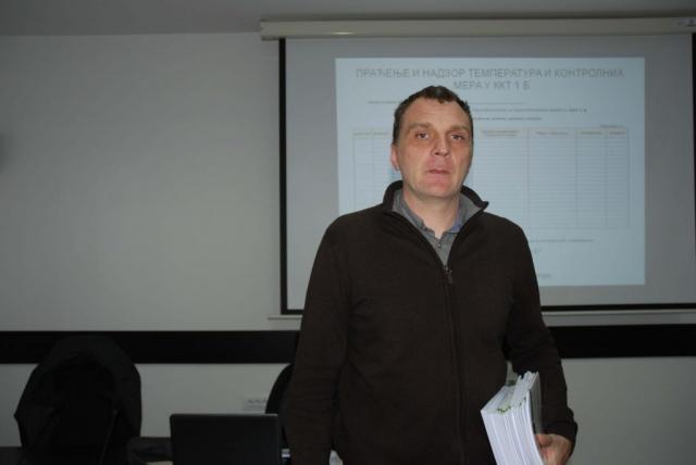 Горан Секулић испред WWF