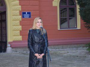 Душанка Голубовић градоначелница Сомбора, поздравила присутне