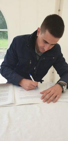 У име града Сомбора уговоре о суфинансирању пројеката потписао је заменик градоначелнице Антонио Ратковић