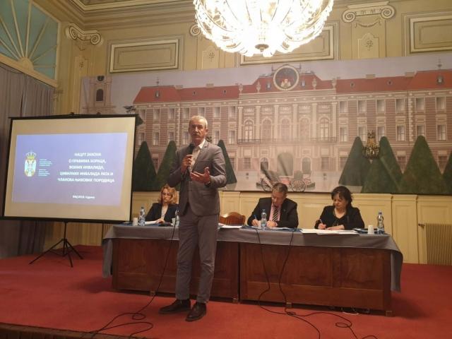 Саша Дујовић, самостални саветник у Министарству рад, запошљавање, борачка и социјална питања