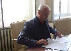 Мирослав Ковачић, већник Града Сомбора потписао је уговор у АПВ за добијање средстава којима ће се суфинансирати израда планске документације