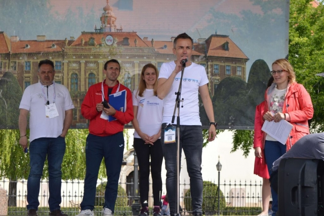 Директор трке Сомборски полумаратон Дамир Марковић